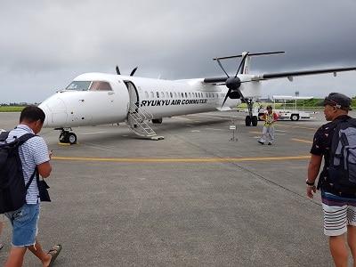 Okinawa Vliegtuigje Ishigaki
