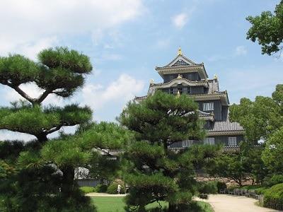 Japan Okoyama Koraku En Garden Castle 2