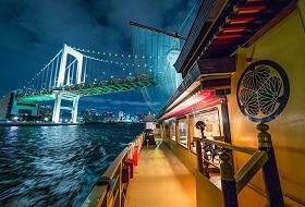 Tokyo Avondcruise Dinershow Boot Excursie