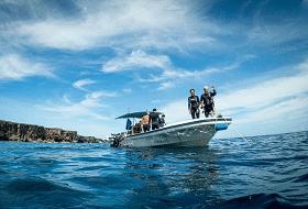 Duikexcursie Boot Okinawa