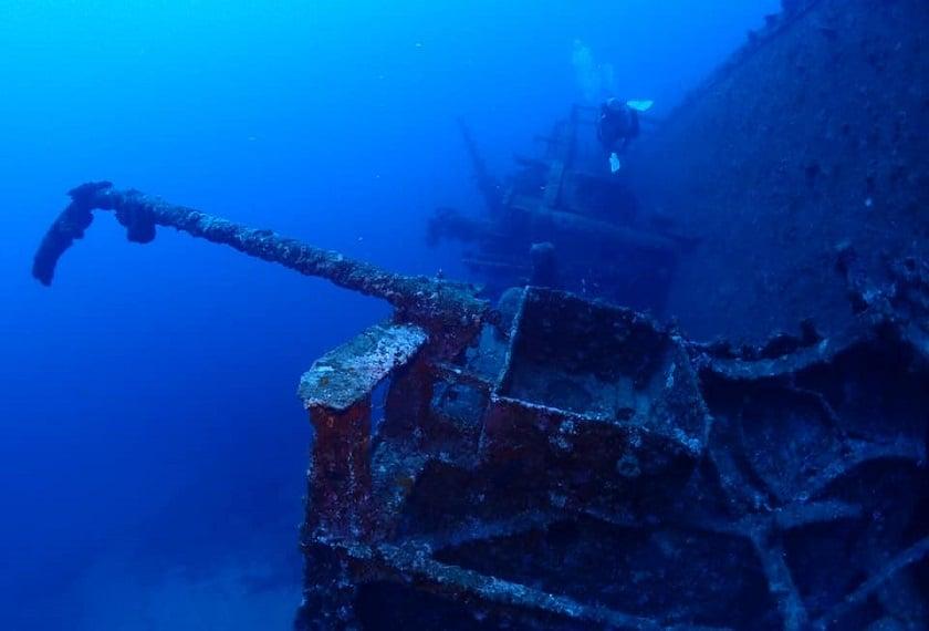 USS Emmons Duikexcursie Iki Travels