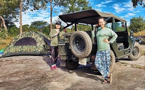 Lily Jeep Tour Phnom Kulen Cambodja
