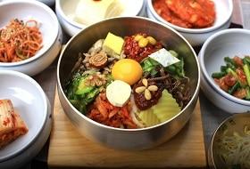 Zuid Korea, Maaltijden; Bibimbap