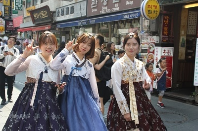Zuid Korea Hoogtepunten Hanbok